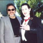 as Dracula with Joseph Mascolo of Days of our Lives
